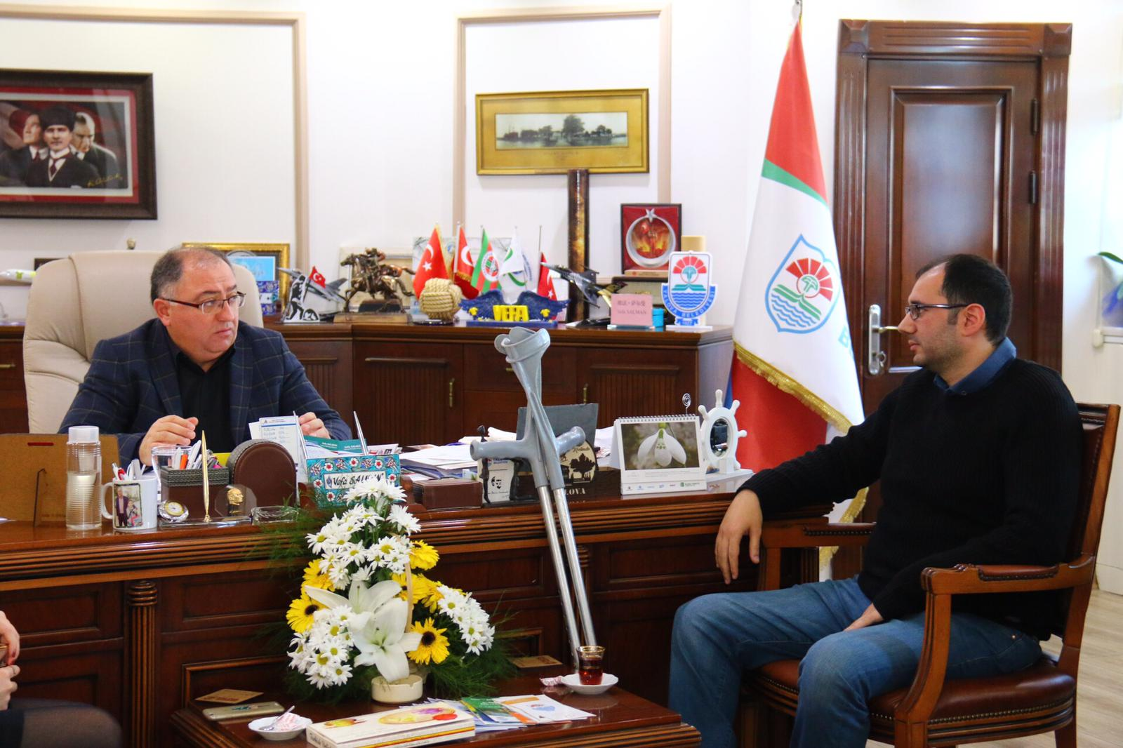 TUFAG'dan Başkan Salman'a ziyaret